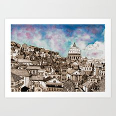 Rome, Aventino Art Print