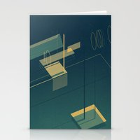pool Stationery Cards featuring Pool by Maxime Chillemi