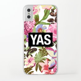 YAS Clear iPhone Case