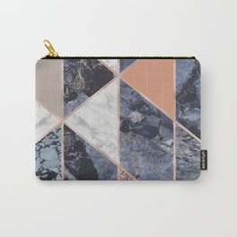 Triangle Grid Pattern Carry-All Pouch