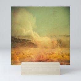 I dreamed a storm of colors Mini Art Print