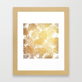Stay Golden Framed Art Print