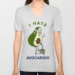 I Hate Avo cardio Unisex V-Neck