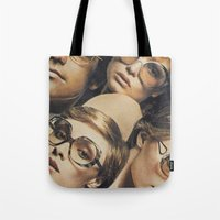 hydra Tote Bags featuring Hydra by WeLoveHumans