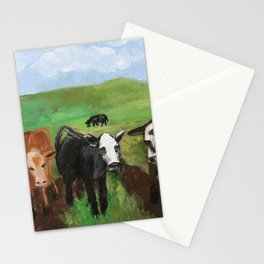 Spring Time in the Pastures Stationery Cards