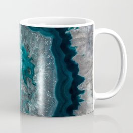 Earth treasures - Blue Agate Coffee Mug