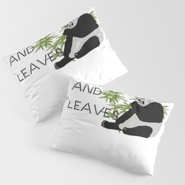 Eats, Shoots and Leaves Pillow Sham