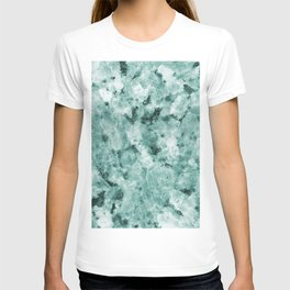 Mint Green Crystal Marble T-shirt