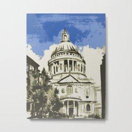 Saint Paul's Cathedral London Metal Print