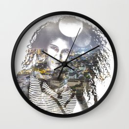 double exposure PV - C Wall Clock