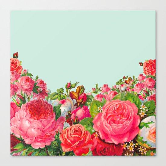 BOLDEST FLORAL Canvas Print