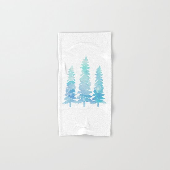 Tahoe Trees  Hand & Bath Towel