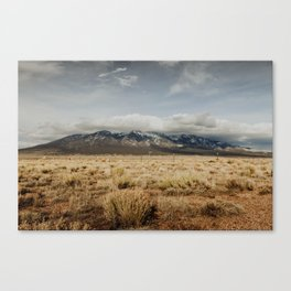 Great Sand Dunes National Park - Mountains Canvas Print