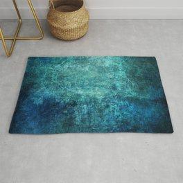 Turquoise Ocean Marble Rug