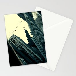 Perils of the Big City Stationery Cards