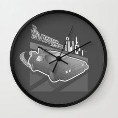 Don't Come-a Knockin Wall Clock