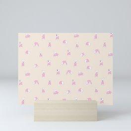 Mini Schnauzer Pattern Mini Art Print