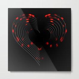 Valentines - Light My Fire Metal Print