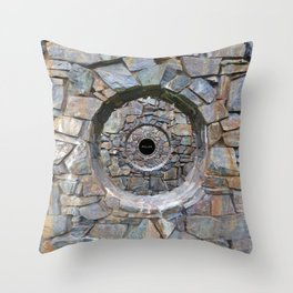 FOCUS (Shattered Version) Throw Pillow