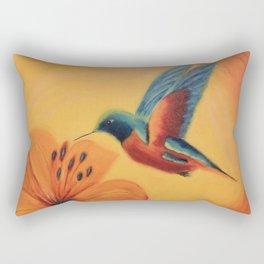 What a beauty | Qu'elle beauté Rectangular Pillow
