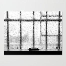 When it rains in Brooklyn Canvas Print