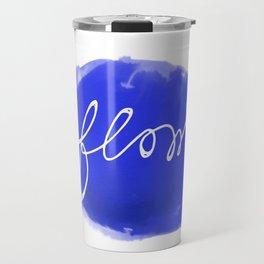 Watercolor flow Travel Mug