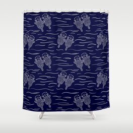 Otterly Devoted Shower Curtain