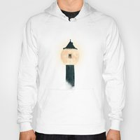 marianna Hoodies featuring The Moon Tower by Paula Belle Flores