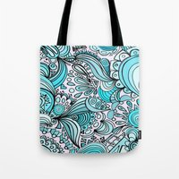crystal Tote Bags featuring Crystal by DuckyB