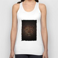 hakuna Tank Tops featuring LEOPARD KING by alexa
