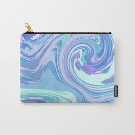 BLUE MIX Carry-All Pouch