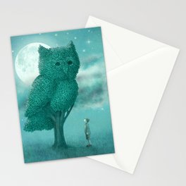 The Night Gardener - Cover Stationery Cards