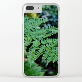 Fern Forest Clear iPhone Case