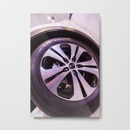 Kia Sportage Wheel Metal Print