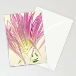 Love me, Dhalia - Botanical Print Stationery Cards