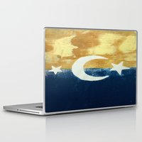 moonrise Laptop & iPad Skins featuring Moonrise by Abby Snyder