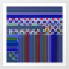 Spots, Dots, and Stripes Art Print