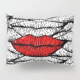 A Bunch of Kisses Pillow Sham