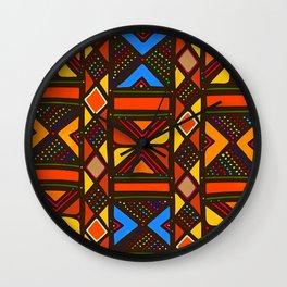 African Style No6, Sahara Desert Wall Clock