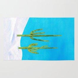 Two Saguaros Rug
