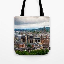 Panoramic of Edinburgh Tote Bag