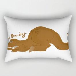 Bad Dino Day Rectangular Pillow