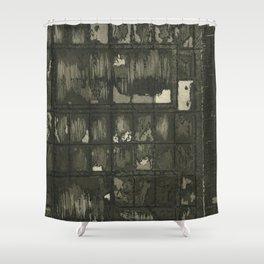 Through Shower Curtain