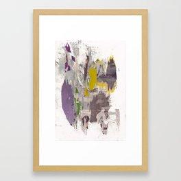 dirty tribune II Framed Art Print