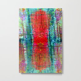 Kindly enough the tissue was composed of melodies. Metal Print