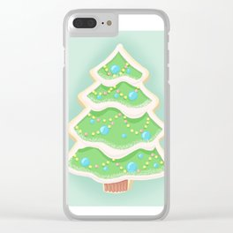 Baking Christmas Bright Clear iPhone Case