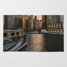Afternoon in Chicago Rug