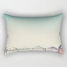 the beach hut ... Rectangular Pillow