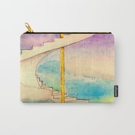 Fantasy Stairs Watercolor Carry-All Pouch