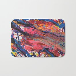 Colorful Abstract Bath Mat